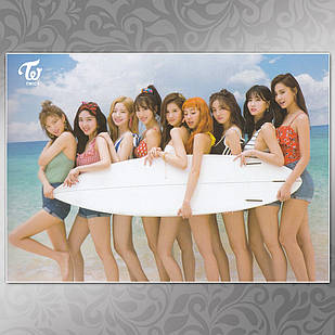 Плакат K-Pop Twice 009