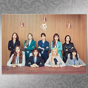 Плакат K-Pop Twice 010