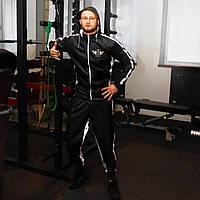 """Черный  весогоночный костюм для сгонки веса «Weight Killer"""""""