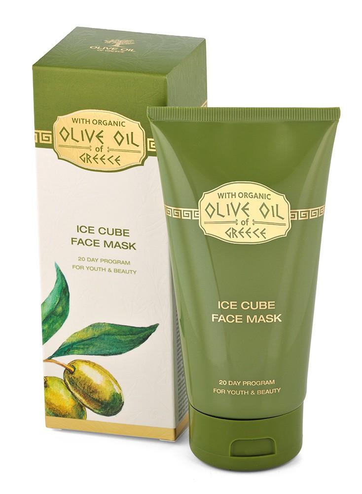 Ледяная маска для лица/Ice cube face mack  Olive Oil of Greece 150 ml