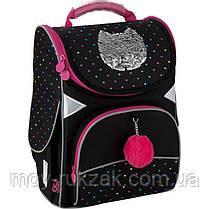 Рюкзак GoPack Education каркасный 5001-6 Shiny cat GO20-5001S-6, фото 2