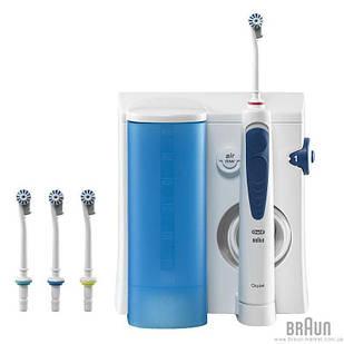 Набір сімейний Іригатор OxyJet MD20+Електрична зубна щітка  Vitality 100