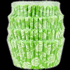 Бумажные формы для маффинов и капкейков 75*45*30 мм (уп 100шт)