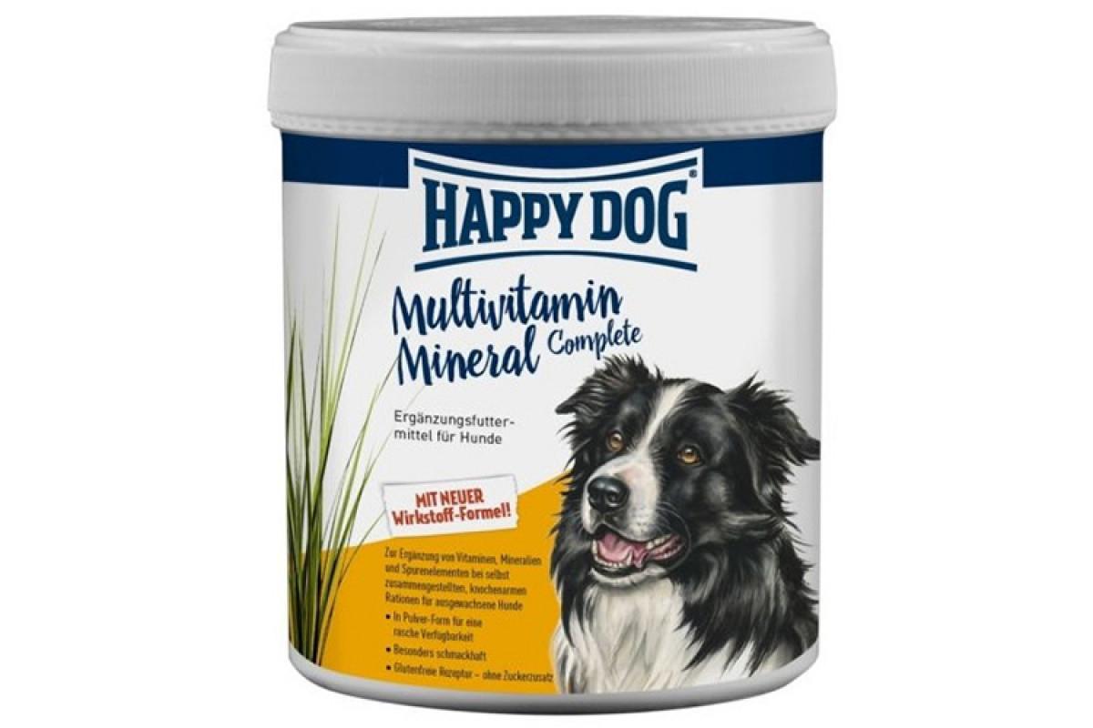 Кормовая добавка Happy Dog Multivitamin Mineral с повышенными нагрузками для собак всех пород и возрастов, 1000 г