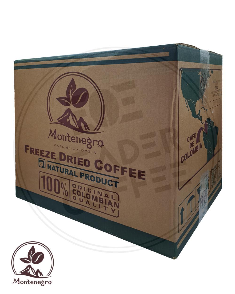 Кофе растворимый сублимированный Колумбия, (Columbia Montenegro), 25кг