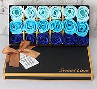 Мыло из роз Подарок девушке Подарок жене Подарки для женщин Подарок для девушки Розы с мыла