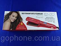 Керамический выпрямитель для волос Enzo EN-5444 с LED дисплеем и терморегулятором (красный), фото 2