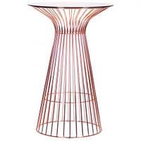 Стол Maleo, rose gold, glass top (AMF-ТМ)