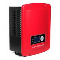 Гібридний мережевий інвертор LogicPower HE1K-48V-220 (1кВт, 1 фаза, 1 шт. MPPT)