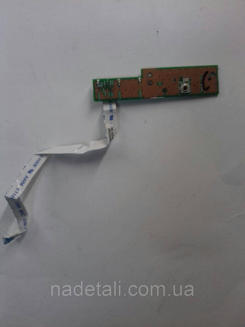 Плата кнопка ВКЛ. Acer Extensa 5430 48.4Z703.01M