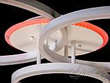 Стельова LED-люстра A3006/3WH LED 3color dimmer, фото 5