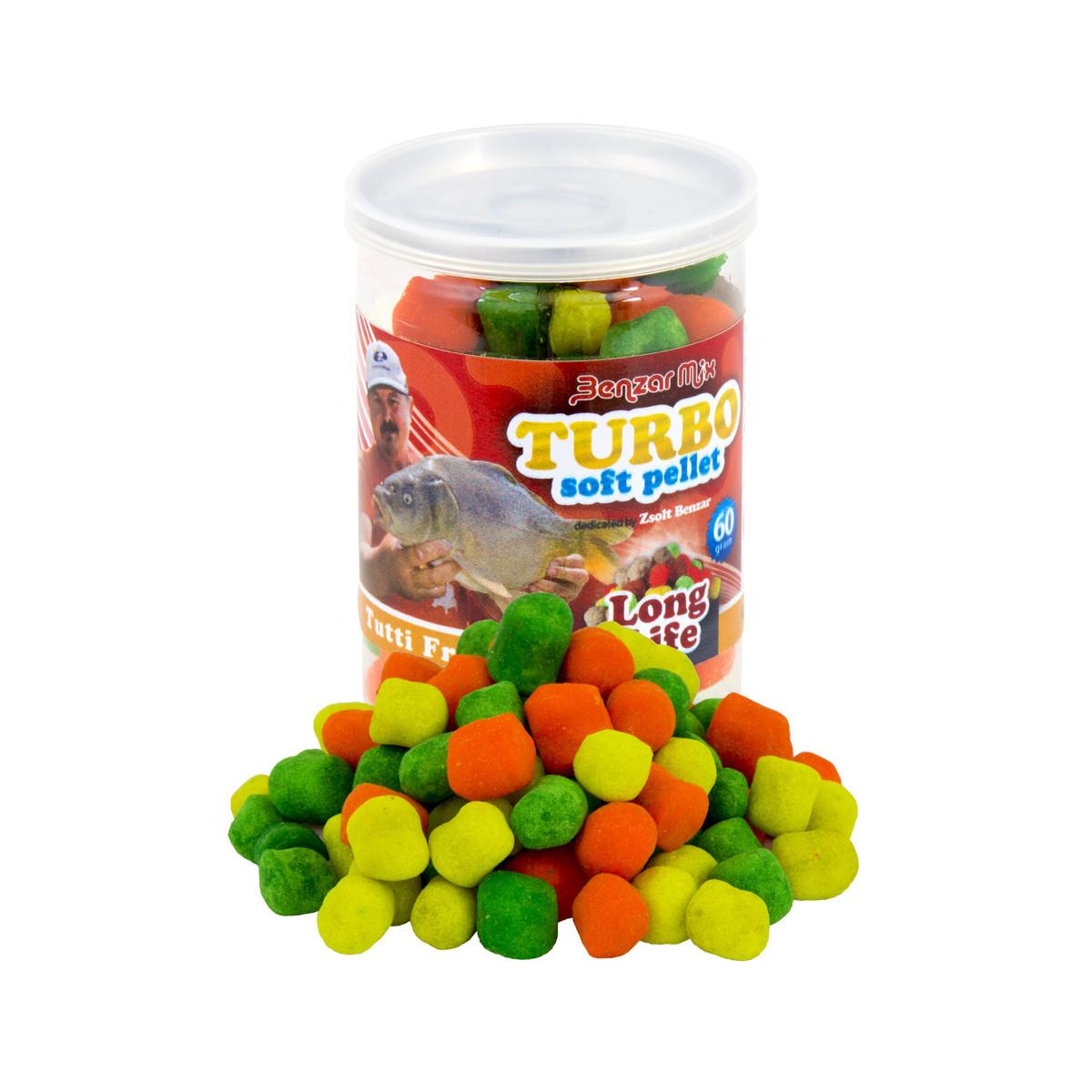 Пеллетсы Turbo Soft Pellet Benzar Mix 60г Long Life Мидия
