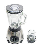 🔝 Стационарный блендер 2в1 со стеклянной чашей + кофемолка Domotec MS-6609 1000W с кувшином, кофемолкой 🎁%🚚