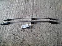 Рейлинги декоративные (с пластиковыми наконечниками) Chevrolet Niva (шевроле нива/ ваз 21236) 2002+