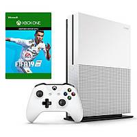 Стаціонарна ігрова приставка Microsoft Xbox One S 500GB + FIFA 19
