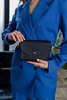 Поясная сумка черного цвета Udler, фото 1