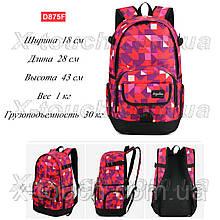 Молодіжний рюкзак, що не промокає Dingshixuan D875F, червоний.
