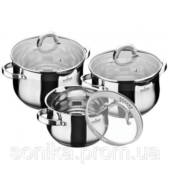 Набір посуду  MAXMARK 6предметів MK-6506A