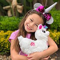"""Интерактивная мягкая игрушка """"Танцующая лама"""" PETS & ALIVE"""