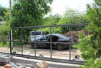 Откатные автоматические ворота ш4000, в2000 (каркас под зашивку), фото 2