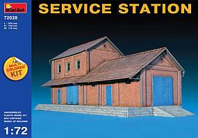 Станция техобслуживания. 1/72 MINIART 72028