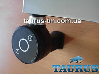"""Чорний електротена TERMA DRY MS BLACK таймер 1-5 ч. + маскування кабелю + LED. Для всіх полотенцесушителей 1/2"""""""