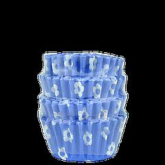 Бумажные формы для маффинов и капкейков 40*30*20 мм (уп 100 шт)