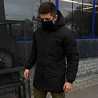 Зимняя куртка в стиле OFF WHITE │ BLACK