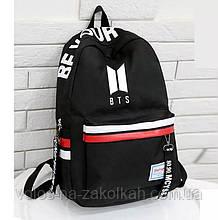 Рюкзак портфель  подростковый BTS K-Pop Корея