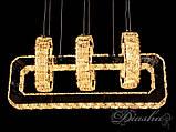 Хрустальная светодиодная люстра-подвес D6022, фото 3