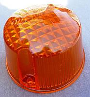 Стекло поворотов круглое МТ ИЖ высокое оранжевое