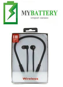 Наушники Bluetooth стерео гарнитура JBL BT31 (черные)