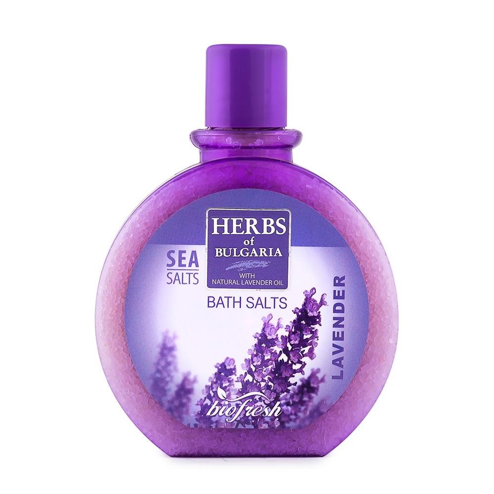 """Соль для ванны/Bath salts """"Herbs of Bulgaria Lavender"""""""
