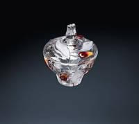 Сахарница Nadine Satin Red Gold 160 мм WALTHER GLASS