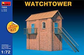 Сторожевая башня. Модель в масштабе 1/72. MINIART 72025