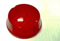Стекло поворотов круглое МТ ИЖ низкое красное
