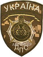 Шеврон ДПС Украина