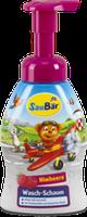 SauBär Waschschaum Himbeere Детская пенка для умывания Малина 250 мл