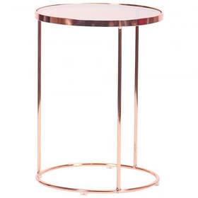 Стол журнальный Kalibri, rose gold, glass top (AMF-ТМ)