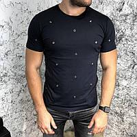 Valentino T-Shirt Hole Dot Black