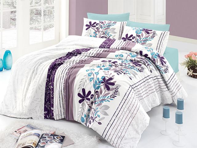 Комплекты постельного белья ранфорс семейный размер First choice
