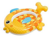 Детский надувной бассейн Intex 57111 «Золотая рыбка», 140 х 124 х 34 см