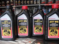 ▲ Трансмиссионное масло TOYOTA