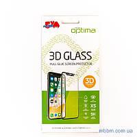 Защитное стекло Optima 3D Samsung A51 black