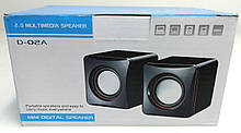 Колонки USB Mini мультимедийная USB акустическая система 5Вт