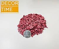 Декоративный цветной щебень (крошка, гравий) , Розовый (3345644366)