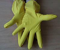 Перчатки латексные хозяйственные(10 пар), фото 1