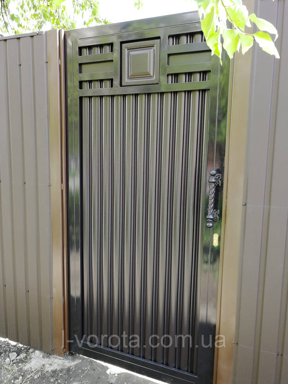 Калитка ТМ Хардвик 1000×2100 (дизайн ЛЮКС)