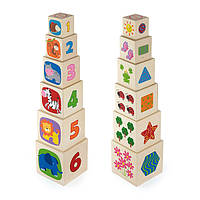 "Іграшка ""Кубики"" (50392), Viga Toys, фото 1"