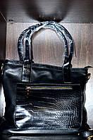 Гламурная черная сумка